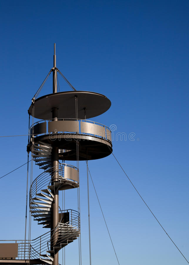 Download Lookout Tower stock photo. Image of spiral, tall, melbourne - 13209466