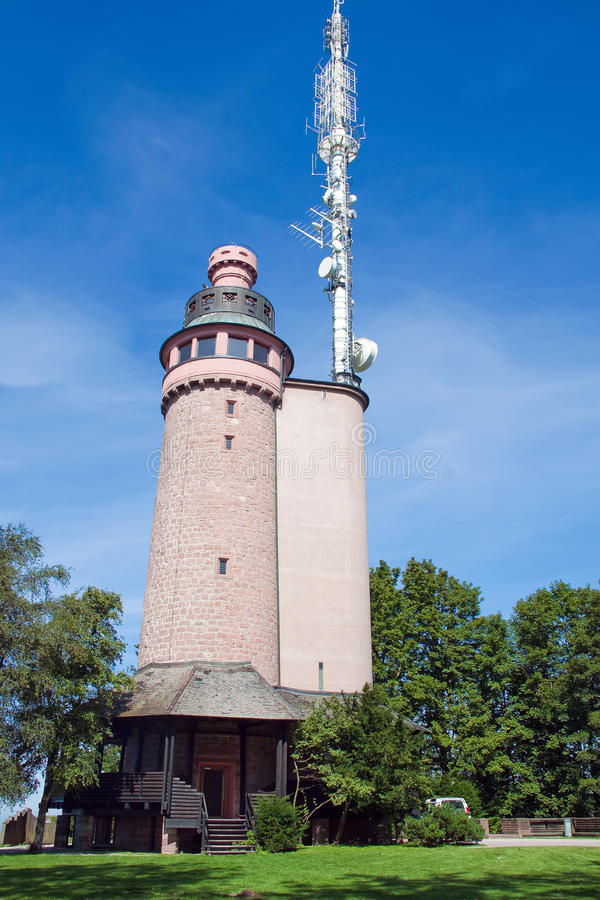 The Lookout Tower Royalty Free Stock Photography
