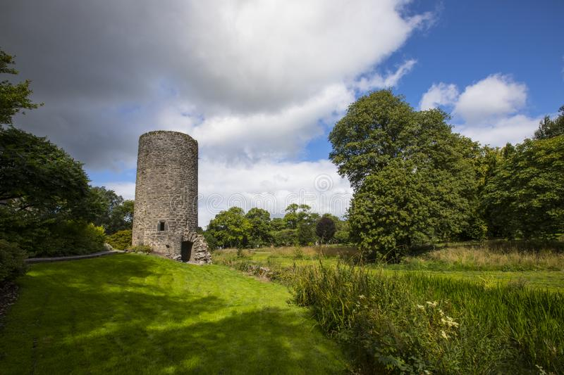 Lookout Tower at Blarney Castle in the Republic of Ireland royalty free stock image