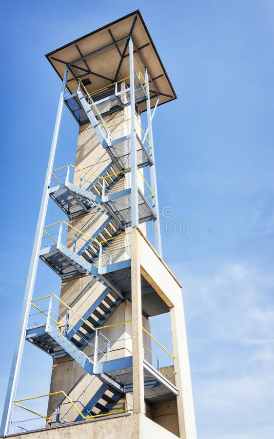 Download Lookout tower stock image. Image of part, railing, contemporary - 34302981