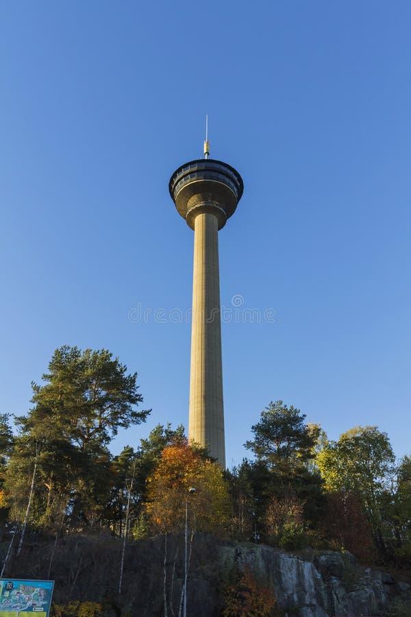 Lookout tower Nasinneula royalty free stock photos