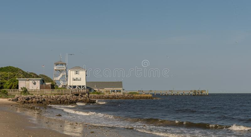 Lookout towers royalty free stock image