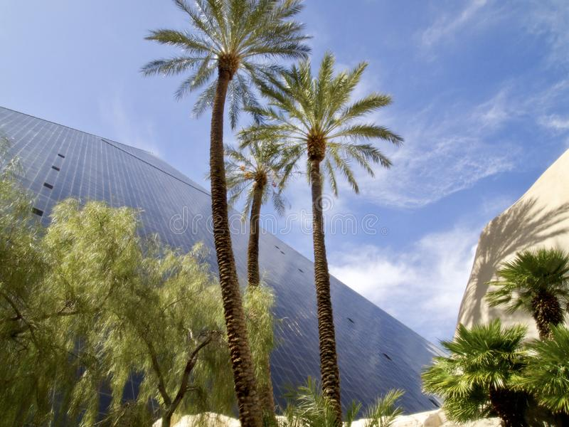 A view at the Luxor hotel casino in Las Vegas royalty free stock images