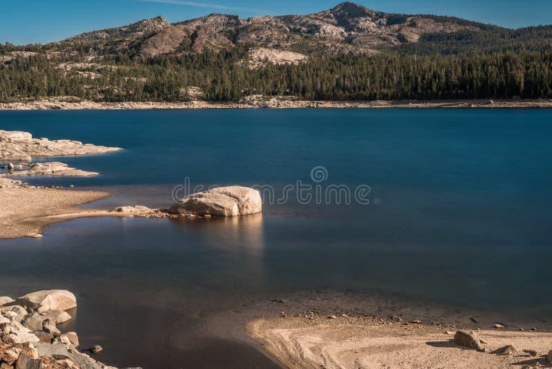 Loon Lake royaltyfri bild