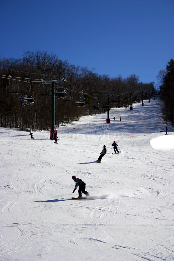 Free Loon Mountain Ski Resort Royalty Free Stock Image - 320236