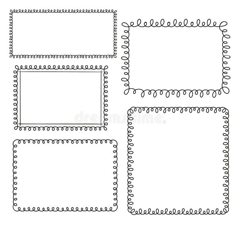 Loop frames royalty free illustration