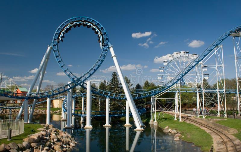Loop Rollercoaster royalty free stock image