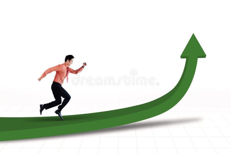Download Looppas voor succes stock illustratie. Illustratie bestaande uit ladder - 29509228