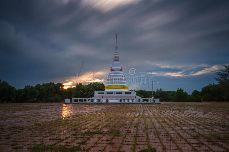 Looppashemel op pagode stock afbeelding