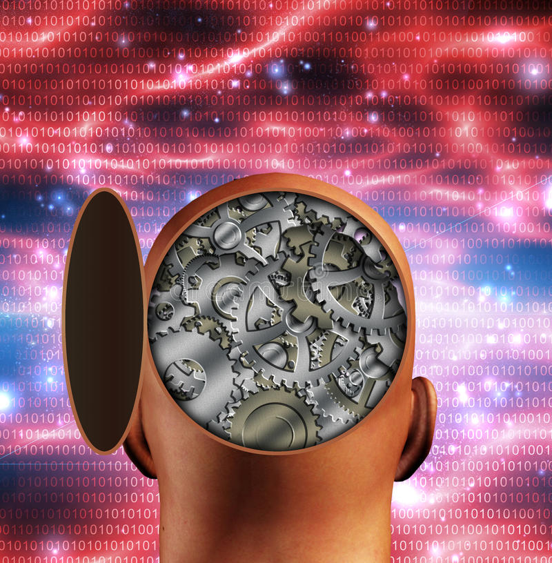 Download Loose stock illustration. Image of gear, cybernetic, design - 24659657