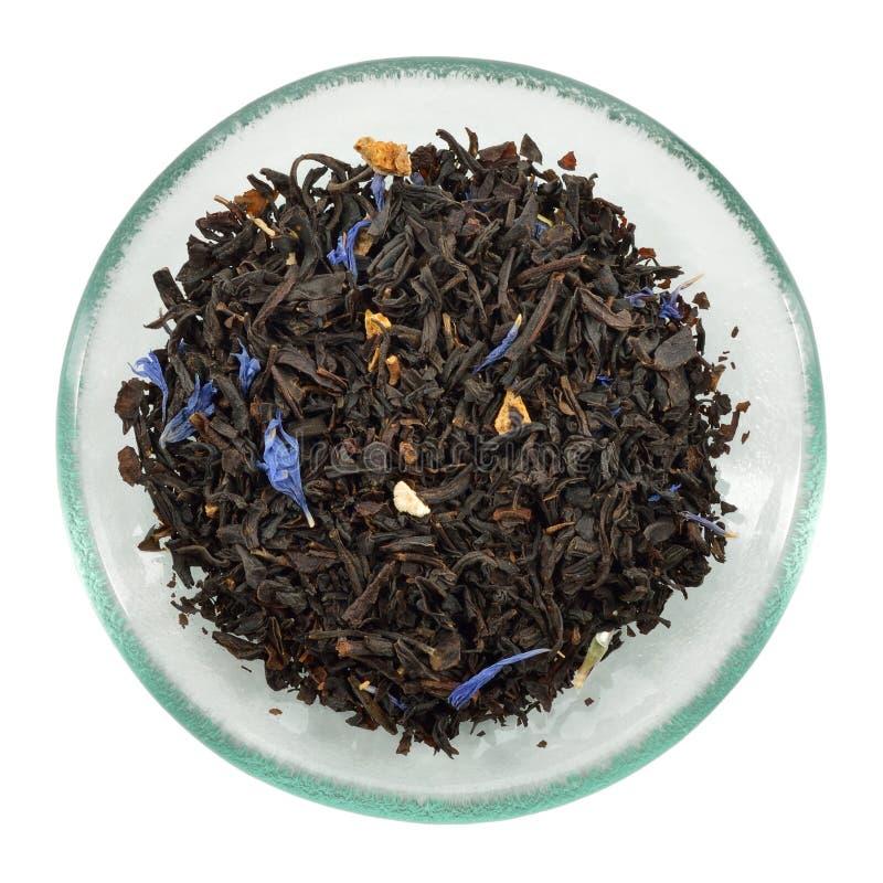 Loose Lady Grey tea - Earl Grey variation. royalty free stock photo