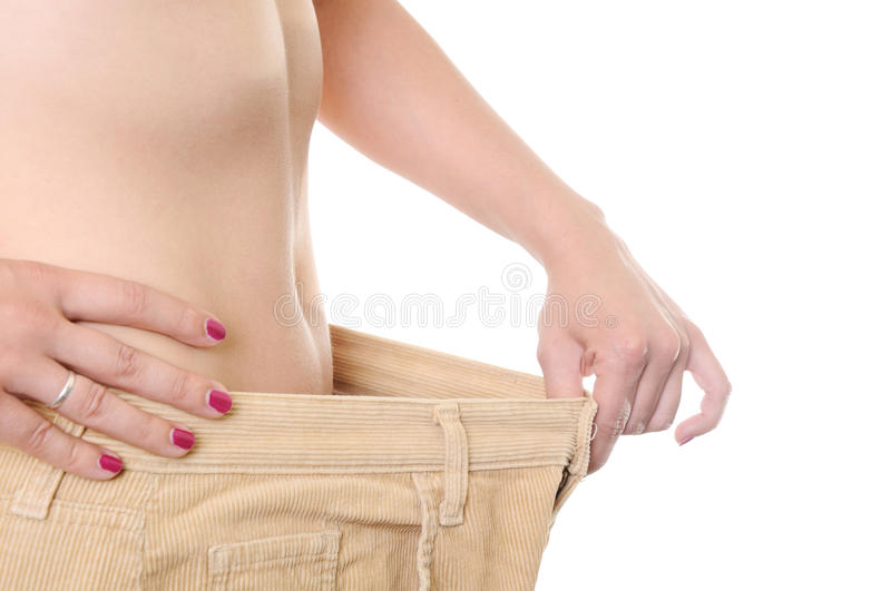 Download Loosing weight stock image. Image of large, jeans, slim - 9733949