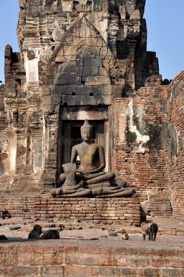 Download Lop Buri, Thailand: Wat Prang Sam Yot Royalty Free Stock Images - Image: 18045499