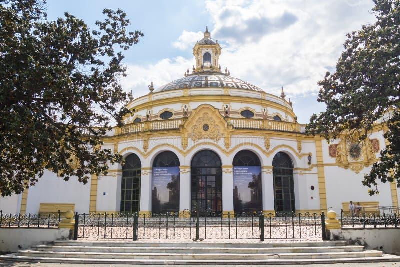 Lope de Vega teater, Seville, Spanien royaltyfri foto