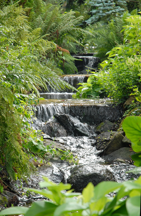 Lopend Water stock fotografie