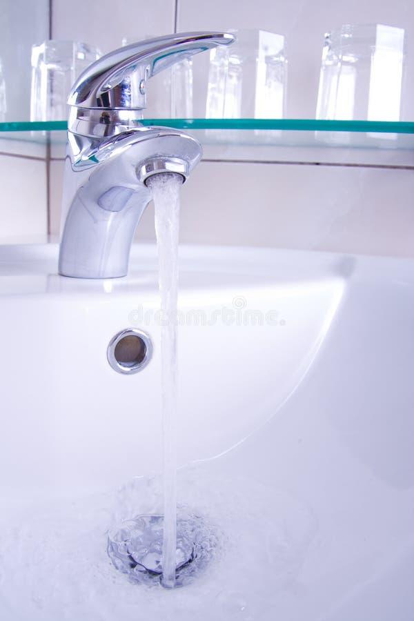 Lopend water royalty-vrije stock afbeeldingen