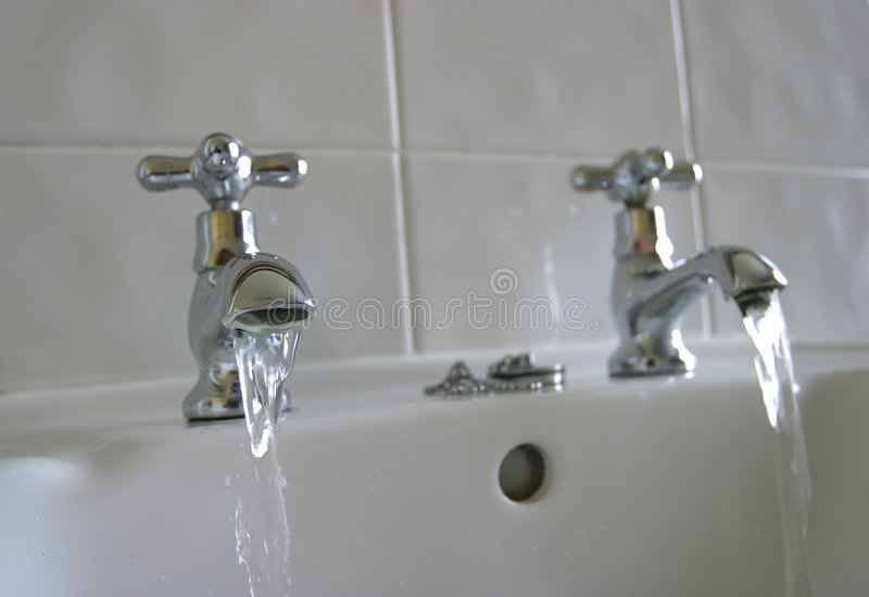 Lopend Water stock afbeelding