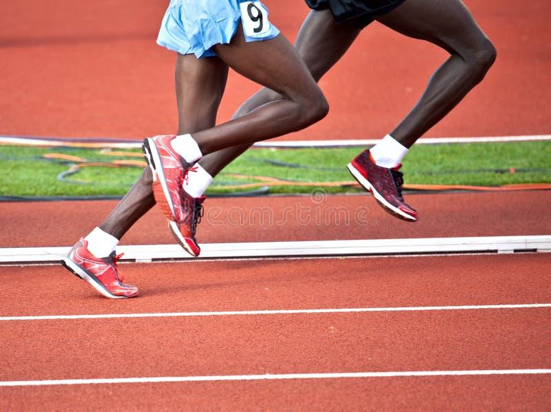 Lopende Atleten stock afbeeldingen