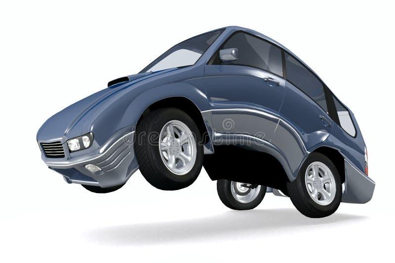 Lopende auto stock illustratie