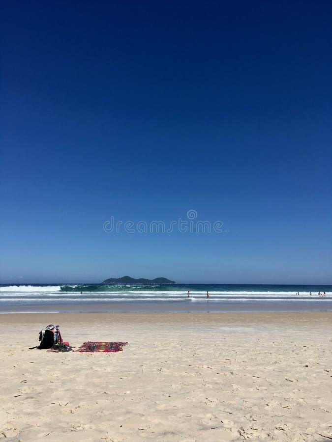 Lopes Mendes plaża w Ilha Grande fotografia royalty free