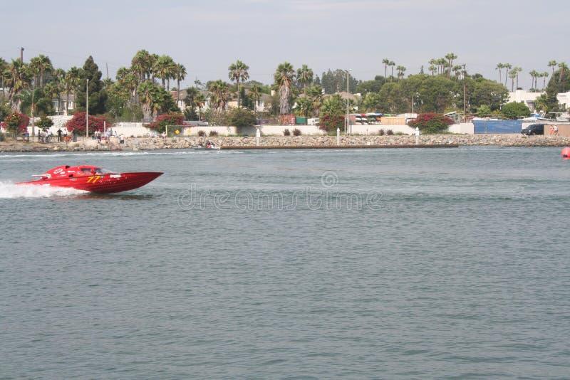 Lopp för Long Beach hastighetsfartyg royaltyfri foto