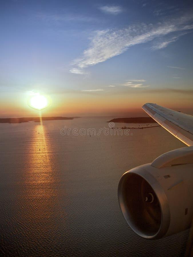 lopp för motorflygnivå s fotografering för bildbyråer