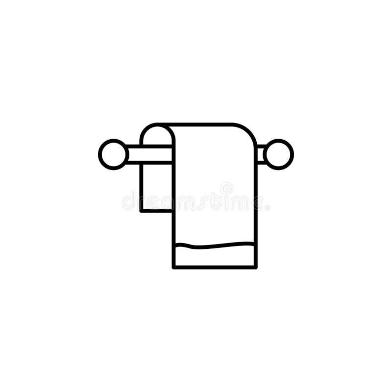 Lopp icecreamöversiktssymbol Beståndsdel av loppillustrationen Tecknet och symbolsymbolen kan användas för rengöringsduken, logoe royaltyfri illustrationer