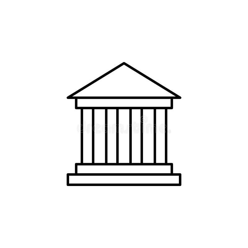 Lopp museumöversiktssymbol Beståndsdel av loppillustrationen Tecknet och symbolsymbolen kan användas för rengöringsduken, logoen, stock illustrationer