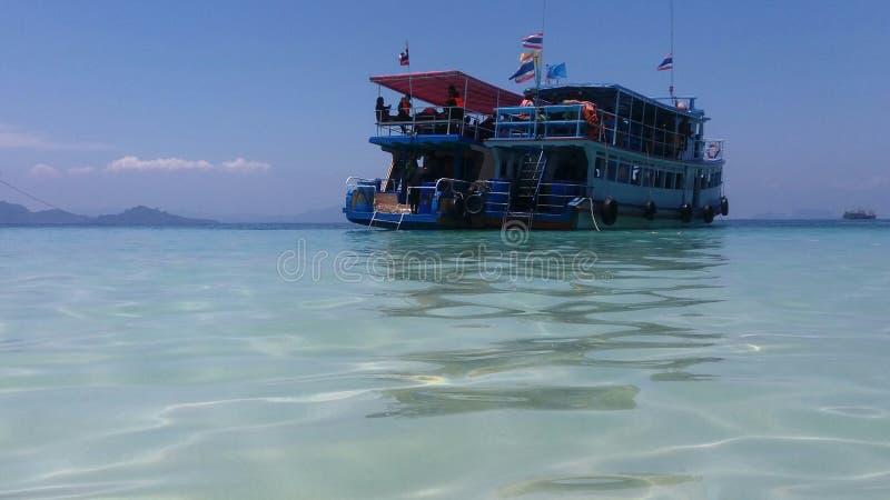 Lopp på Trang, Thailand arkivfoto