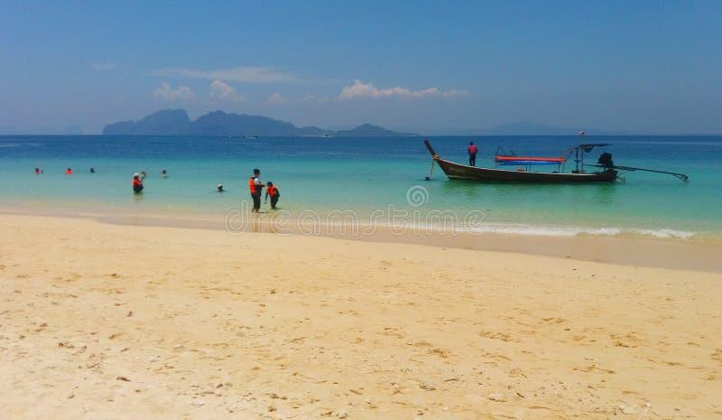 Lopp på Trang, Thailand arkivbilder