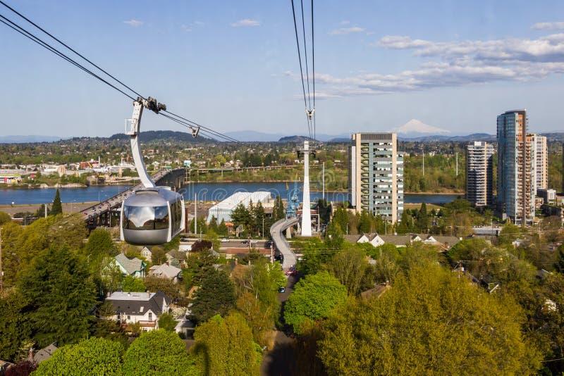 Lopp Portland Oregon royaltyfri bild