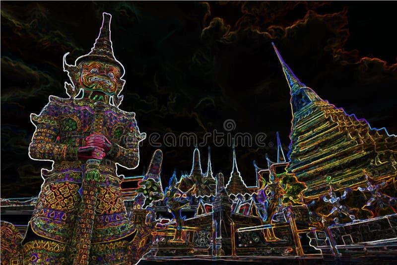 Lopp som förbluffar Thailand royaltyfri fotografi