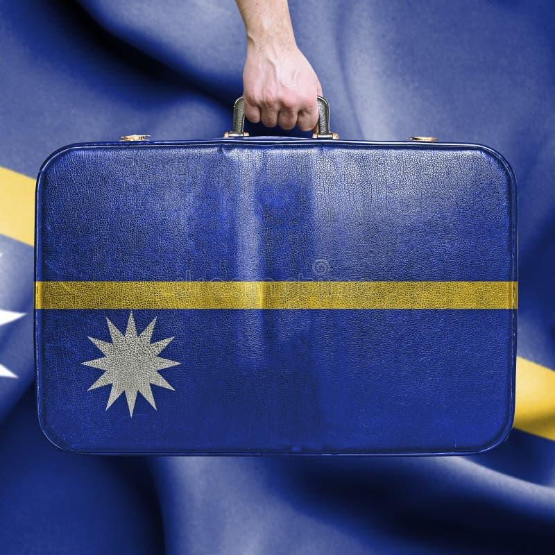 Lopp till Nauru royaltyfri bild