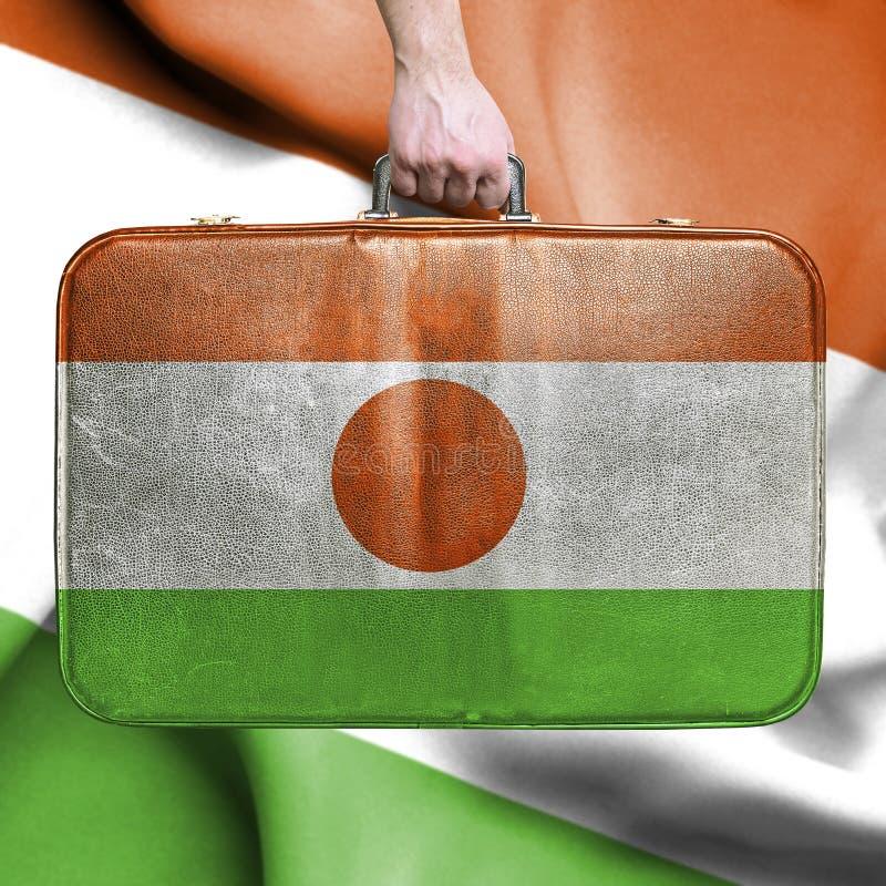 Lopp till Niger arkivfoton