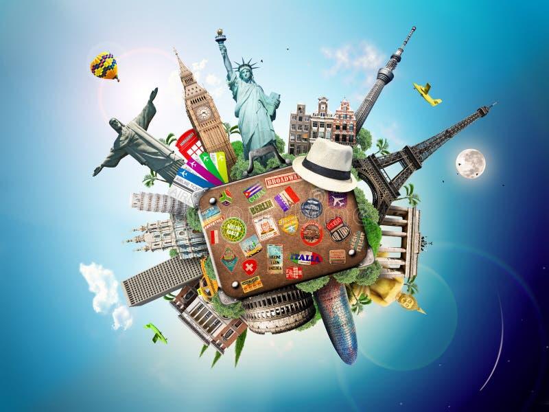 Lopp värld fotografering för bildbyråer