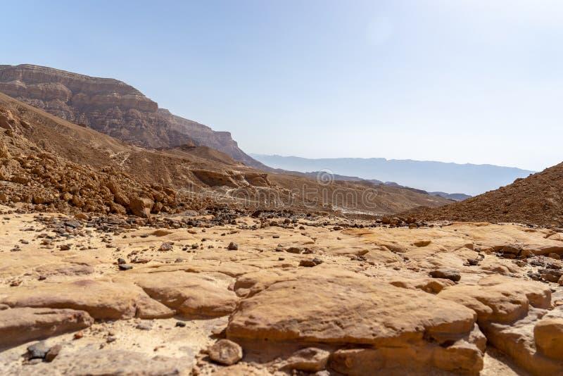 Loppet i Timna parkerar av den Arava ?knen Israel royaltyfria foton