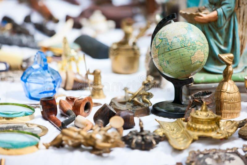 Loppmarknad arkivbild