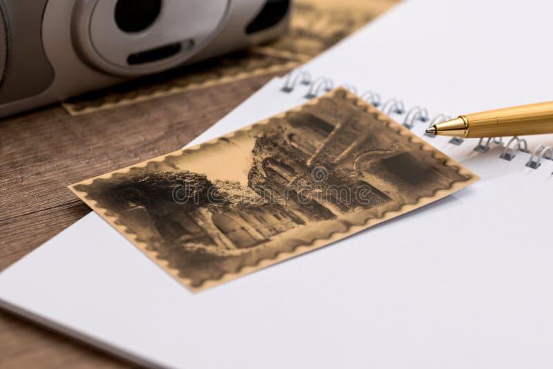 Loppminnestappning arkivfoto