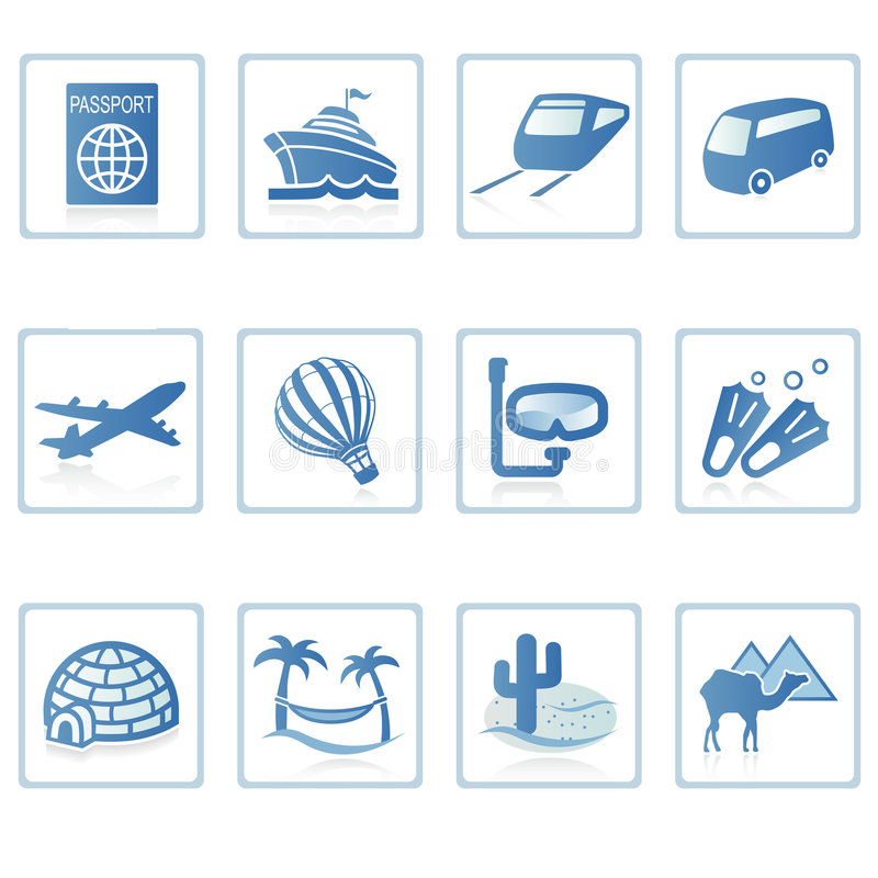 loppsemester för symbol ii stock illustrationer