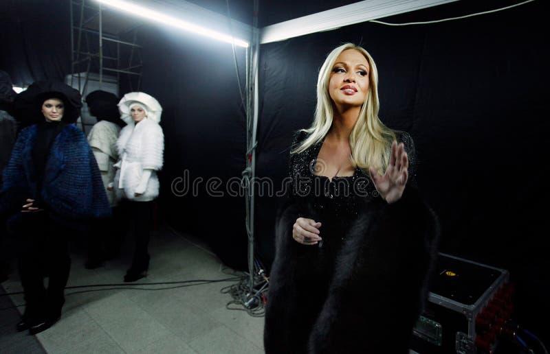 Lopyreva Vika -俄罗斯小姐2003年 库存图片