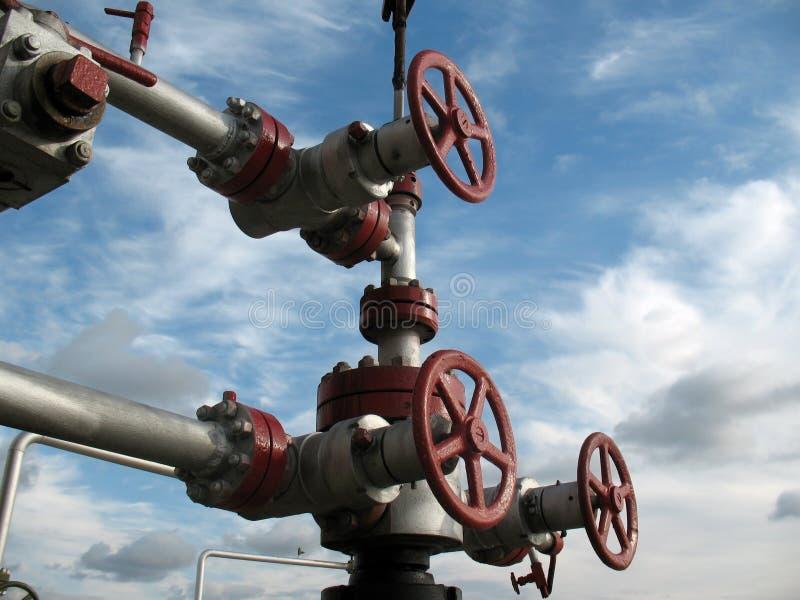 Loquet de pétrole image libre de droits