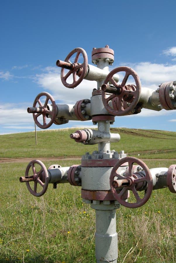 Loquet de pétrole photographie stock libre de droits