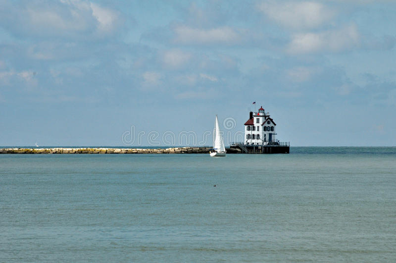 Download Lorain Lighthouse Royalty Free Stock Photography - Image: 32703917