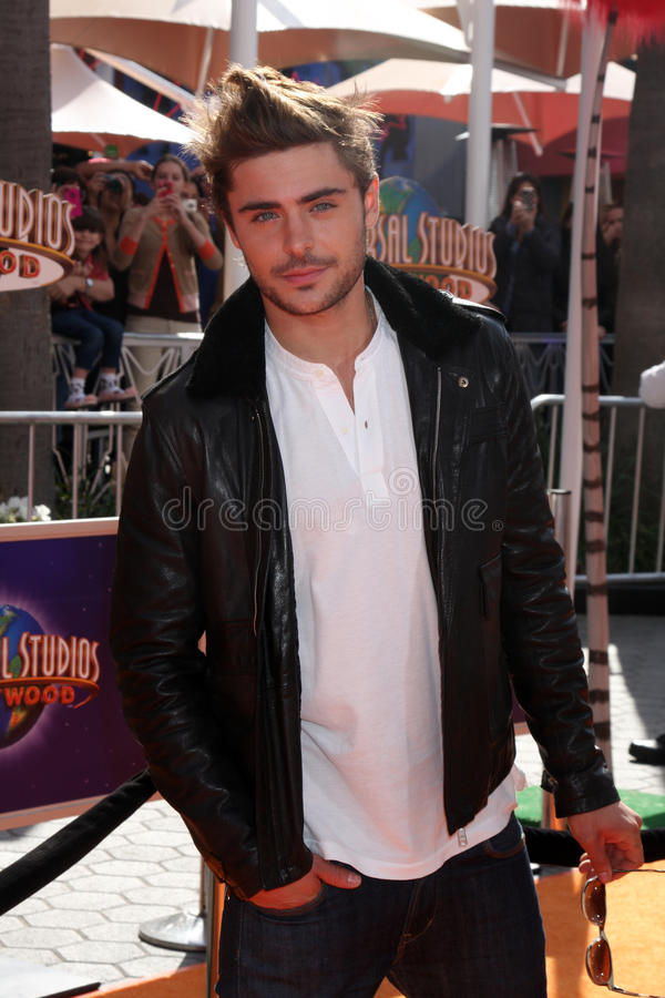 Download The Lorax, Zac Efron editorial stock photo. Image of ampitheatre - 23573293
