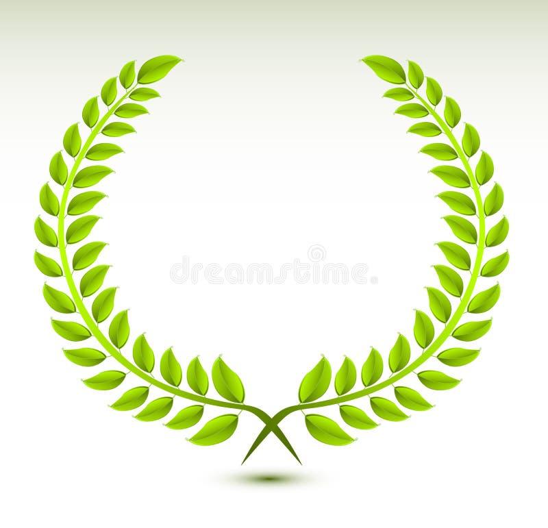 Lorbeer Wreath stock abbildung
