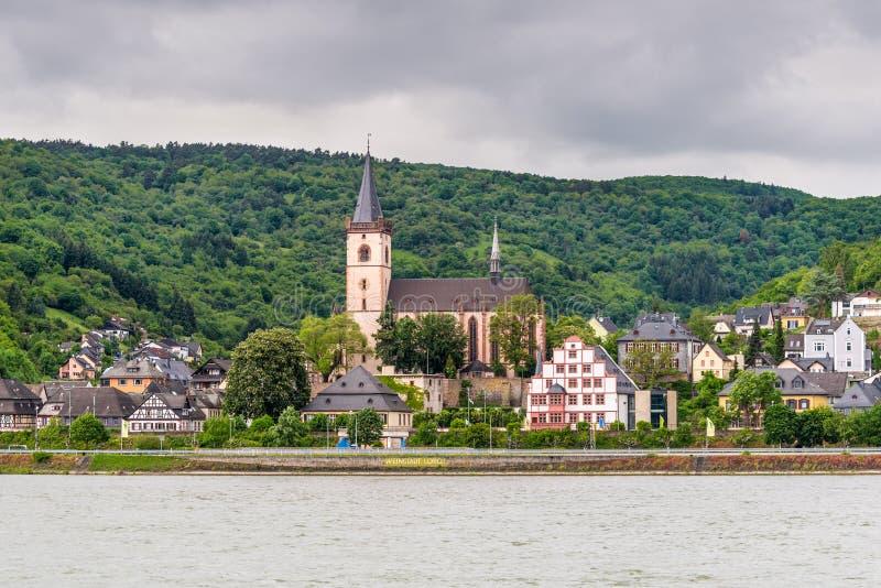 Lorch AM Rhein, Allemagne images libres de droits