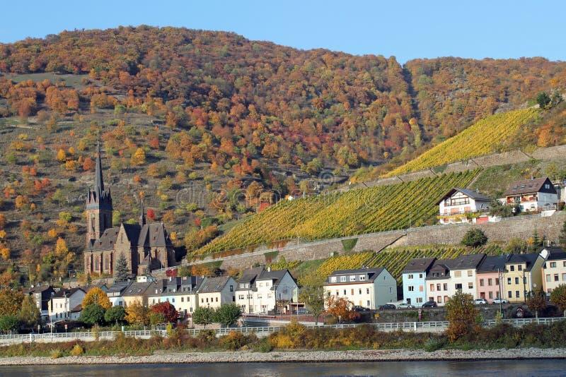 Lorch Tyskland arkivfoto