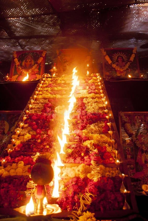 Lord Ayyappa Swamy Pooja imagen de archivo