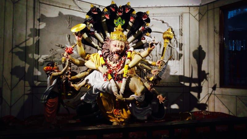 Lord Brahma fotografía de archivo libre de regalías
