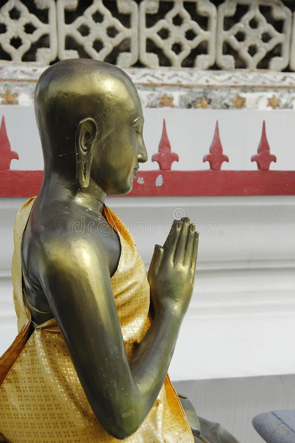 Lord Buddha at Bangkok Temple stock photos